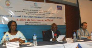 Le gouvernement lance le projet d'appui à la gouvernance économique.