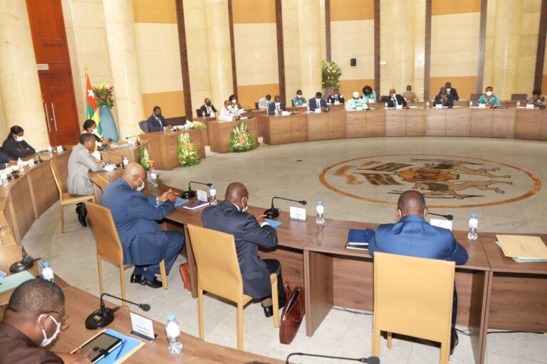 Togo/Intégralité du conseil des ministres de ce 12 mai 2021