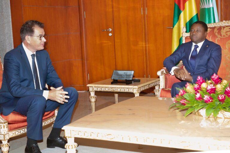 Coopération Germano-Togolaise : Faure Gnassingbé a reçu le  Ministre  Gerd Müller