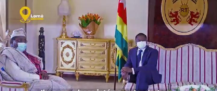 Togo/Faure Gnassingbé a reçu les lettres de créance des ambassadeurs de l'Inde et du Nigeria