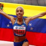 JO Tokyo 2021/ La Vénézuélienne Yulimar Rojas nouveau record mondial triple saut dame (15,67 m)