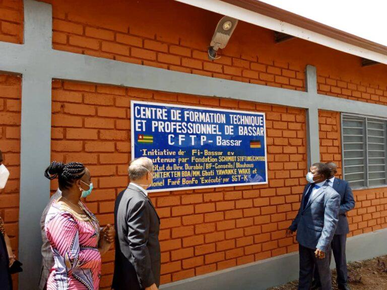 Togo/ Le CFTP de Bassar a son premier bâtiment grâce à l'ONG Fi-Bassar et ses partenaires