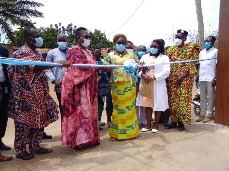 Togo/ Le CMS de baguida mieux équipé pour offrir des soins de qualité grâce au HCR