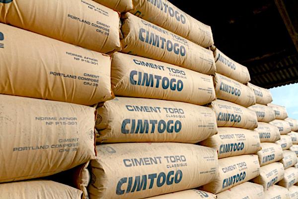 Le prix de vente du ciment n'a pas connu d'augmentation au Togo dixit le ministère du commerce